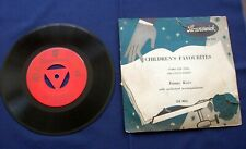 Danny Kaye 'Tubba The Tuba' 45rpm 7ins Record - Brunswick EP 1955 Issue