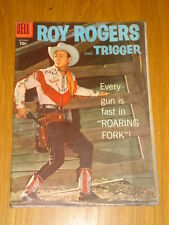 ROY ROGERS AND TRIGGER #117 VG (4.0) 1957 DELL WESTERN COMIC