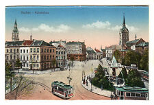Kaiserplatz - Aachen Photo Postcard c1920s / Germany