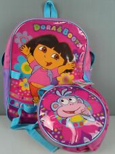 Dora And Boots zippered backpack with bonus detachable duffel bag