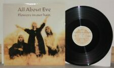 "All About Eve Flowers In Our Hair 12"" 1987 Eden Uk Press Even X4 Gothic Vinyl"