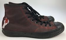 Mens 13 - GREEN DAY American Idiot Converse All Stars Heavy Duty Boots Rock Band