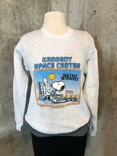 Vintage Snoopy NASA Shuttle Command Sweatshirt STS-1 Kennedy Space Center