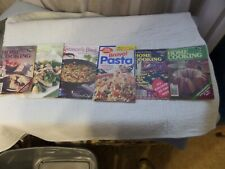 Lot of 6 small cook Books Home Cooking, Season's Best, Betty Crocker