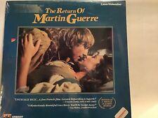 The Return Of Martin Guerre Französisch Film *Laserdisc* Ovp *Neu