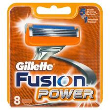 8 GILLETTE FUSION POWER BLADES FREE POSTAGE UK STOCK FAST DISPATCH