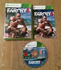 Farcry 3 Xbox 360 Game Complete Tested PAL