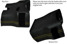 YELLOW STITCH STEERING SHROUD LEATHER COVER FITS PORSCHE 986 BOXSTER&CARRERA 996