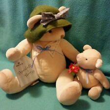 Hallmark ANNABELLE & BREEZY Teddy Bear PLUSH Toy Mother & Baby