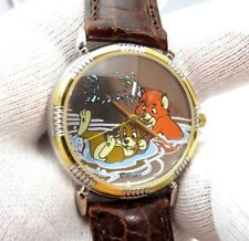 FOX AND THE HOUND, Fossil, Disney, LE 4090 of 7500 Awesome,Men's/Kid WATCH 1374