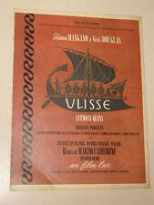 FILM ULISSE DI MARIO CAMERINI=ANNI '50=PUBBLICITA=ADVERTISING=303