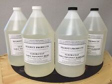 4 gals, TABLE TOP EPOXY RESIN , CRYSTAL CLEAR, HIGH GLOSS, ($38.15/gal) $152.60