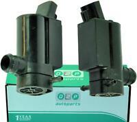 Skoda Fabia 6Y2 Front /& Rear Twin Outlet Windscreen Window Washer Pump