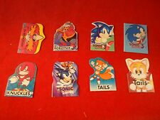 Sonic the Hedgehog 3 Sega Genesis Complete Set of 8 Pencil Toppers Cracker Jack