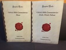 Calvin's Bible Commentaries: 8 Book Lot (Forgotten Books Paperback)
