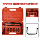 10PC Valve Spring Compressor C-Clamp Service Kit Automotive Tool Motorcycle ATV