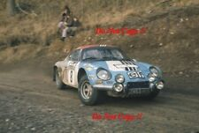 Jean-Pierre Nicolas Alpine-Renault A110 1800 RAC Rally 1973 Photograph 1