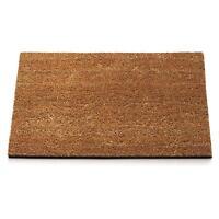 Zerbino cocco naturale 40 x 100 cm gomma antiscivolo tappeto casa raschia fango