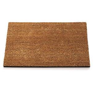 Fußmatte Kokosnuss Natürlich 40 X 70 CM Gummi Anti-rutsch Teppich Haus Schaben