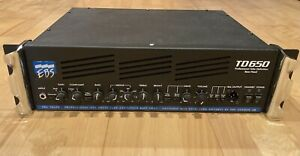 EBS TD650 Professional Tube Definition Bass Head - Outstanding!