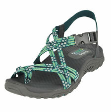 0d01e26e7dcd66 Skechers Womens Reggae Footbed Loopy Toe Ring 100 Webbing Sandal MINT 11 M  US