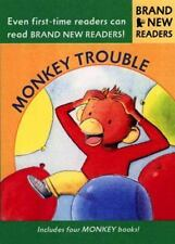 Monkey Trouble: Brand New Readers: By Martin, David