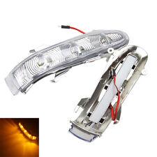FOR MERCEDES W220 S320 S430 S500 SIDE MIRROR TURN SIGNAL LED LIGHT AMBER BLINKER