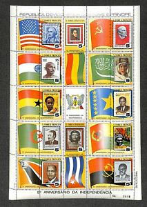 [OPG897] St Tome 1980 lot of 10x sheet VF MNH Include Lenine