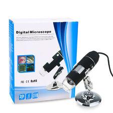 USB 1000X Digital Microscope 2.0MP LED Endoscope Electronic Magnifer Camera