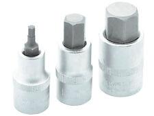 Innen Sechskant Steck Nuss 17, 19, 22 x 55 mm Inbus Schrauben Schlüssel Kfz Bit