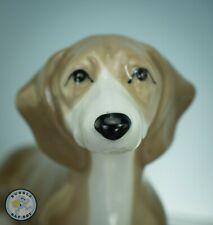 More details for studio szeiler dachshund sitting vtg ceramic dog figurine statue - model no 69