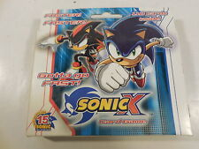 SEALED SONIC X CARD GAME BOX 110 CARDS + 4 PLAYMATS SCORE ENTERTAINMENT 2006 TCG