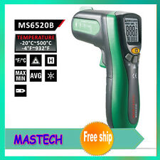 MASTECH DIGITAL INFRARED THERMOMETER WITH LASER POINTER (MS-6520B)
