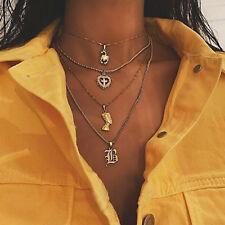 Scorpion Multi Layer Necklace Exaggerated Avatar Jesus Cross B
