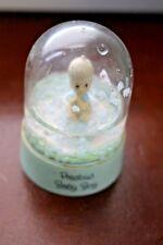 "Precious Moments ""Precious Baby Boy"" Snowglobe Enesco"