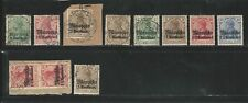 Germany:  Occupation Morocco, good small lot of 11 stamps unused... GE293