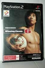 WORLD SOCCER WINNING ELEVEN 6 USATO SONY PS2 EDIZIONE JAPAN NTSC/J GD1 42196