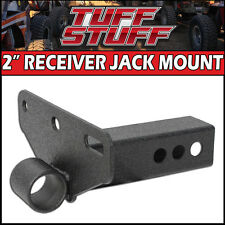 "2"" HITCH RECEIVER HI-LIFT FARM JACK MOUNT & ANTI RATTLE KIT BY TUFF STUFF"