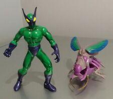 "RARE Spiderman Spider Force Beetle (La dangereuse Beetle) 5"" Action Figure 1997"