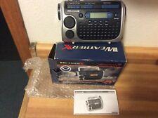 WEATHER X - Weather-Alert-Radio-Flashlight W/ Hand Crank Charging System