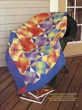 Sunlit Geometrics Quilt Pattern Pieced CP