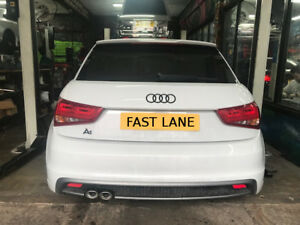 AUDI A1 CUSTOM MADE STAINLESS STEEL CAT BACK EXHAUST SYSTEM SUPPLY AND FIT