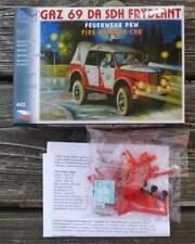 Feuerwehr Einsatzleitungsfahrzeug GAZ 69   - Feuerwehr     1:87