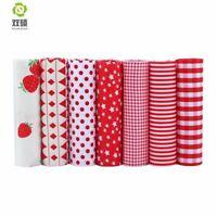 Red Series Tissus Cotton Fabric Telas Patchwork Fabric Fat Quarter Bundles Fabri