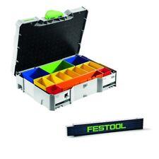 Festool Systainer T LOC SYS 1 Box Sortierbox mit Einsätzen + Meterstab 497694