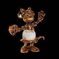 RARE Disney 24kt Gold Plated & Lead Crystal Minnie Mouse Lencia Austria Figurine