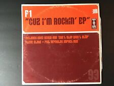F1 ~ Cause I'm Rocking EP ~ Paul King ~ Hard House 1998 ~VG++ FAST SHIPPING!