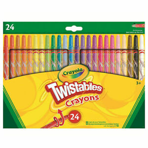Crayola Twistable Crayons (Pack of 24)