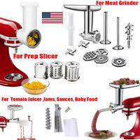 Food Meat Grinder Attachment/ Fruit Jams /Prep Slicer For KitchenAid Stand Mixer