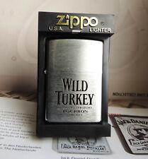 ZIPPO LIGHTER   . WILD TURKEY BURBON WHISKY NEW IN BOX .PART # 2